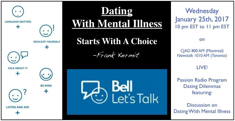 Dating With Mental Illness - Bell Let's Talk