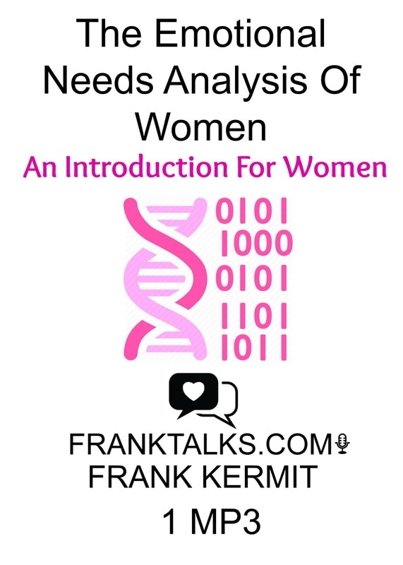 emotional needs analysis of women - intro for women audio mp3