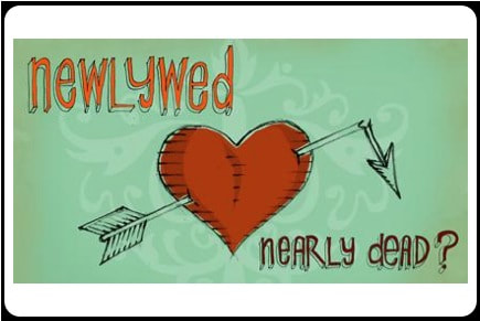 Newlywed Nearly Dead logo