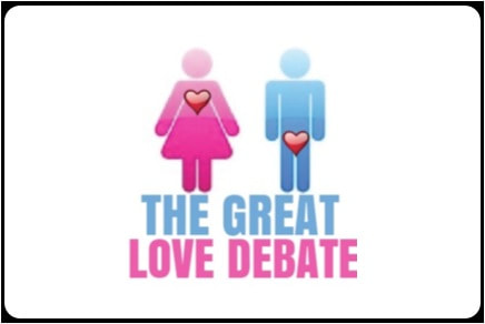 The Great Love Debate logo