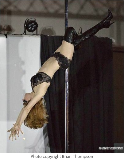 pole dancing routine